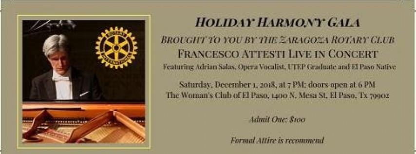 Holiday Harmony Gala Presented by Zaragoza Rotary Club of El Paso