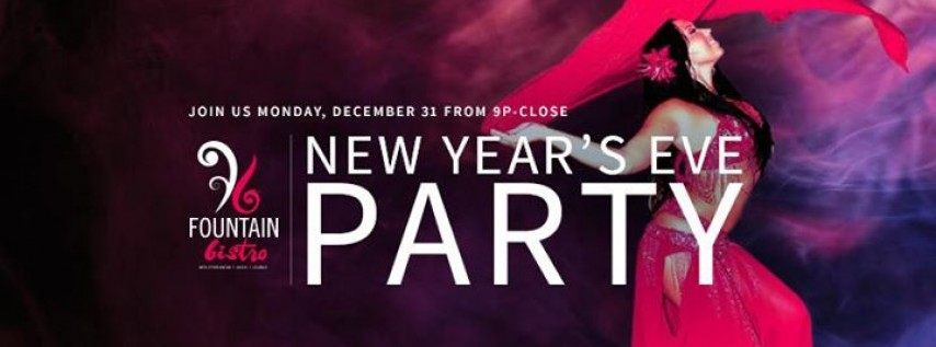Fountain Bistro New Year S Eve Party Tampa Fl Dec 31 2018 9 00 Pm