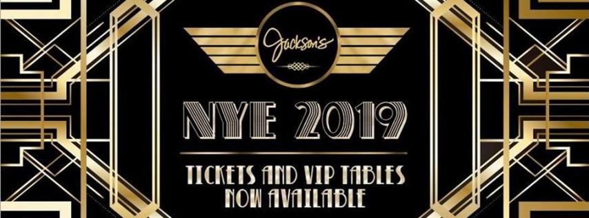 Jackson's Bistro New Year's Eve 2019 Celebration