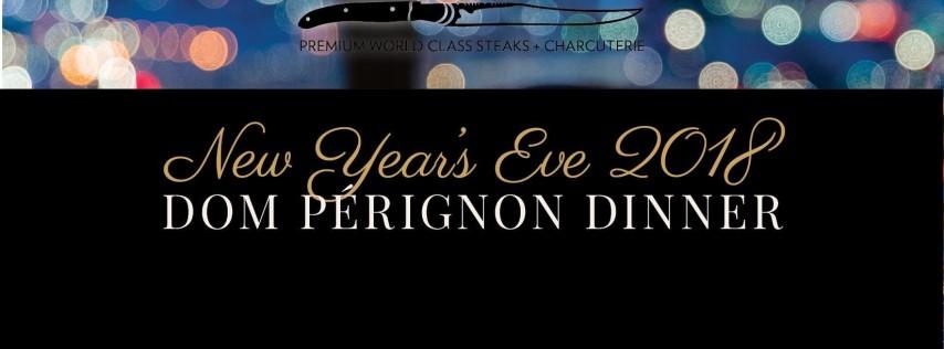 New Year's Eve 2018 Dom Pérignon Dinner at La Boucherie