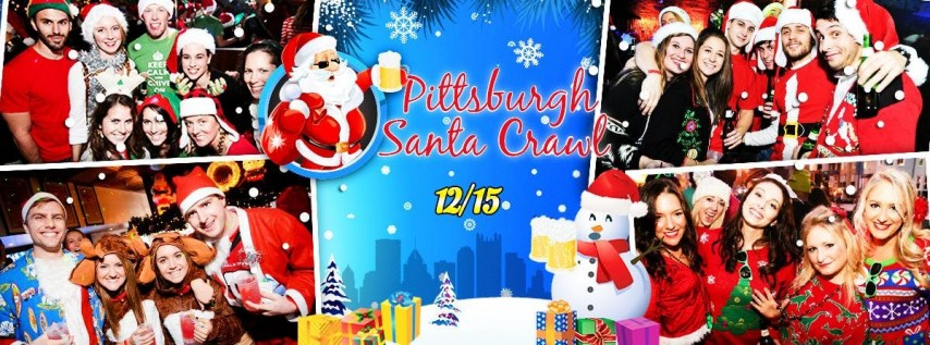 Pittsburgh Santa Crawl 2018 (10+ Bars)