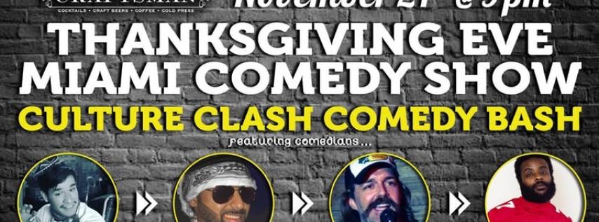 Thanksgiving Eve Miami Comedy Show