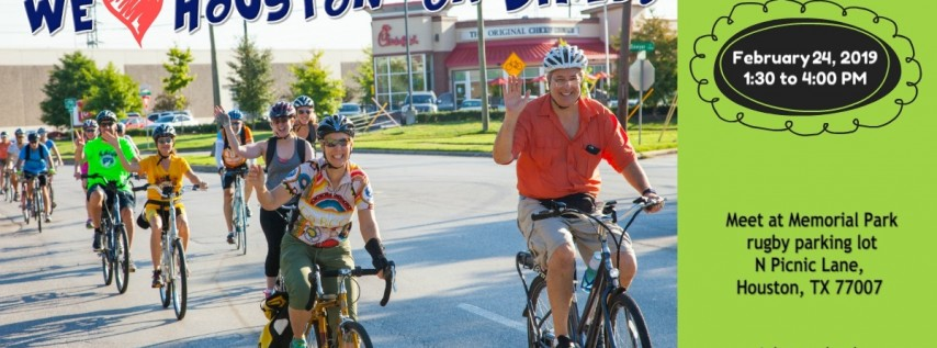 BCO presents: We Love Houston – on Bikes!