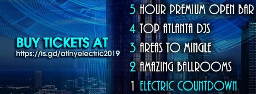 Atlanta NYElectric 2019 New Year's Eve Countdown