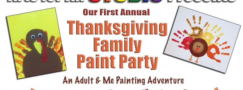 Thanksgiving Adult & Me Painting Party