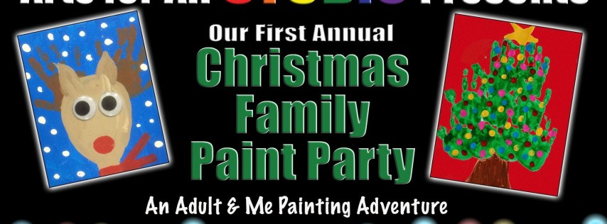 Christmas Adult & Me Painting Party