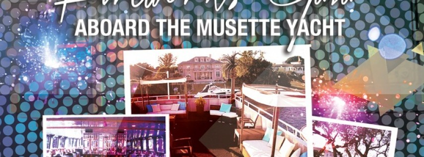 2019 New Year's Eve Fireworks Gala Aboard the Musette Yacht