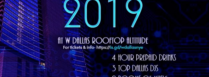 NYElectric | W Dallas New Years Open Bar Tickets