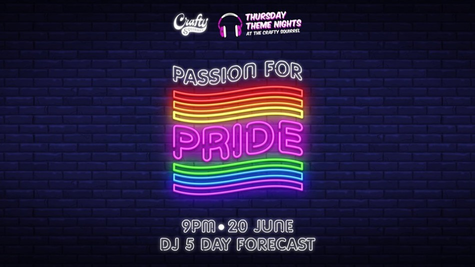 Passion for Pride at Crafty Squirrel
