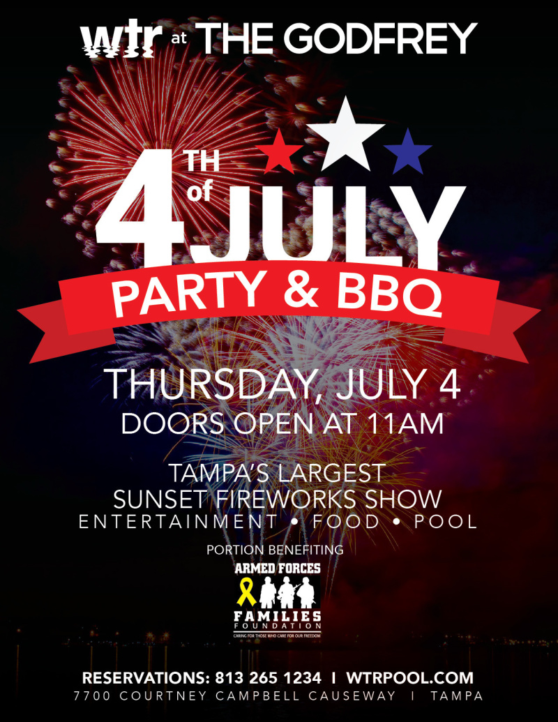 4TH OF JULY PARTY AND BBQ