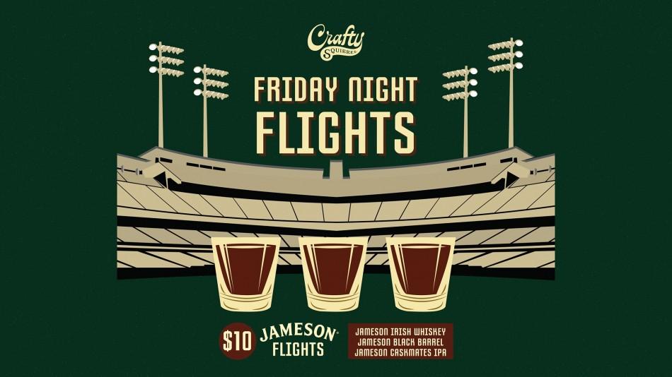 Friday Night Flights at Crafty Squirrel