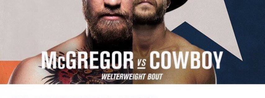 Watch UFC Fight: McGregor vs Cowboy at Crafty Squirrel St. Pete