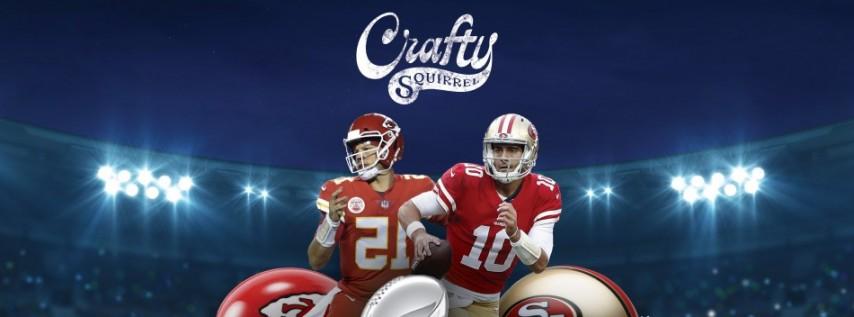 Crafty Squirrel Super Bowl Party!