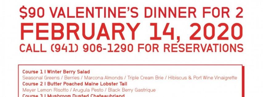 The Rosemary Art District Tribute Portfolio Hotel Offers Romantic Valentine's Day Dinner