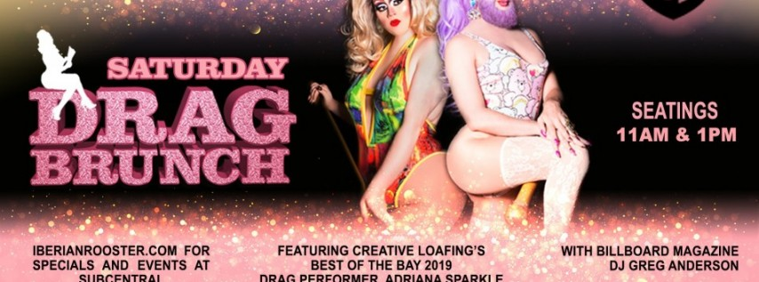 Drag Performers Take Over Downtown St. Pete's Iberian Rooster on Saturdays