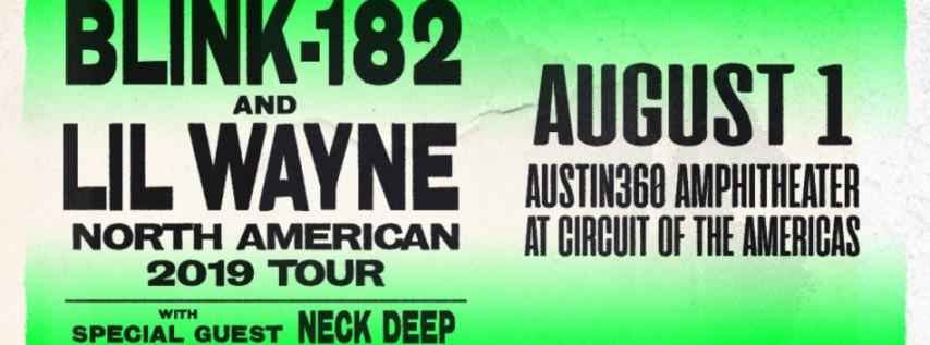 Blink 182 & Lil Wayne tickets for Austin360 Amphitheater, Austin, Texas - THU, AUG 1