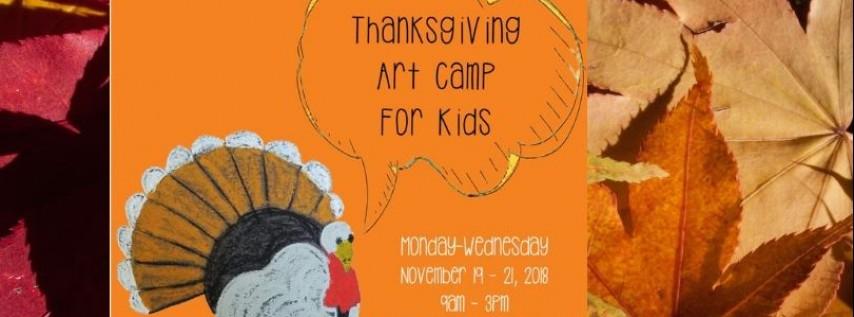 Thanksgiving Art Camp