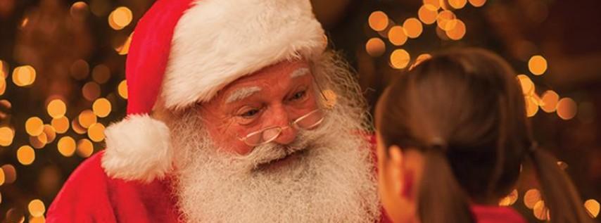 Visits from Santa and Mrs. Claus at Harbor Piazza