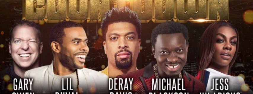 DeRay Davis Annual Funny And Famous Chi Town Comedy Count Down
