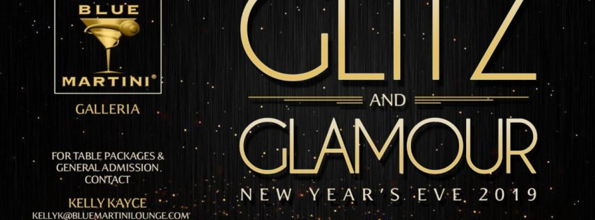 Glitz & Glamour New Year's Eve 2019 - Blue Martini Fort Lauderdale