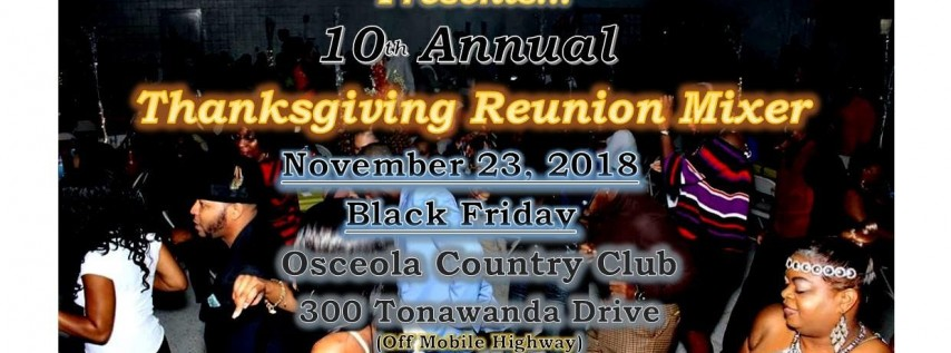10th Annual Thanksgiving Mixer