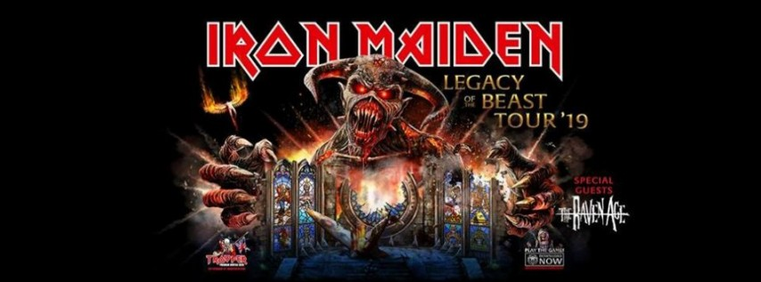 Iron Maiden - Legacy Of The Beast Tour 2019