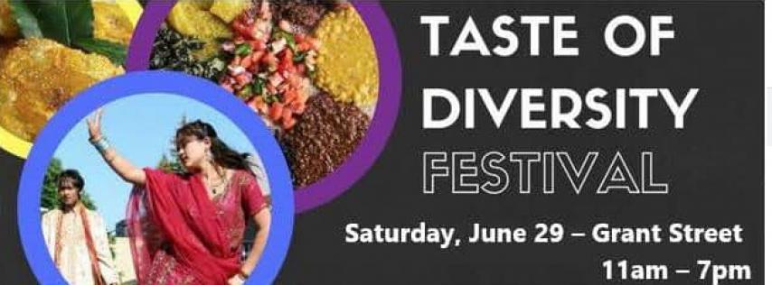 The Taste of Diversity Festival 2019