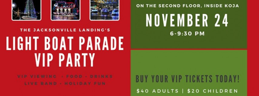The Landing's Boat Parade VIP Party