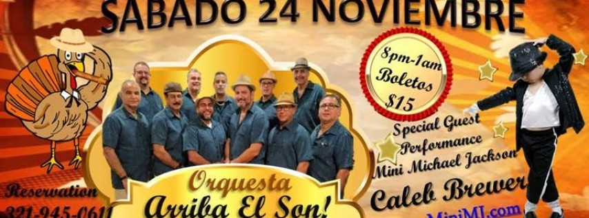 BAILE Y SHOW THE THANKSGIVING