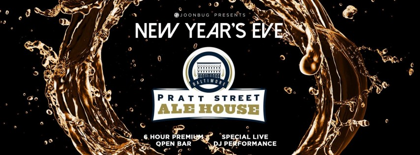 LindyPromo.com Downtown Countdown at Pratt St Ale House NYE 2019