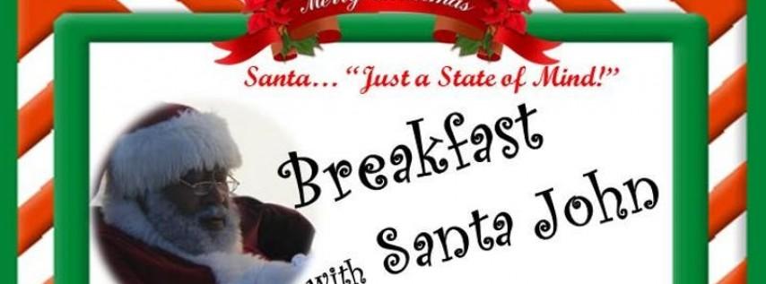Breakfast with Santa John