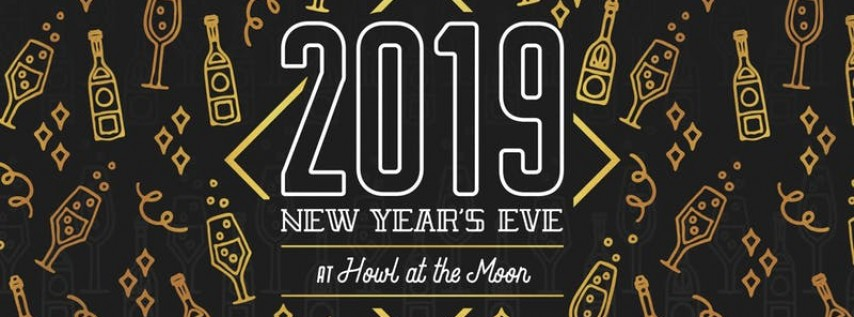 New Year's Eve 2019 at Howl at the Moon Baltimore!