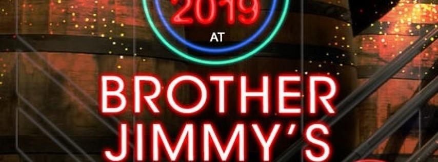 New Year's Eve Premium Open Bar at Brother Jimmy's BBQ