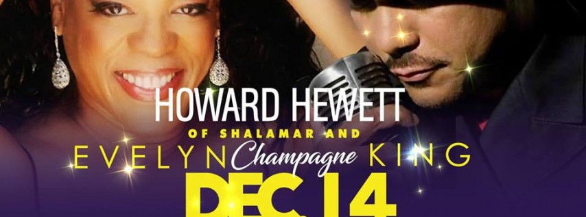 Howard Hewett of Shalamar & Evelyn Champagne King