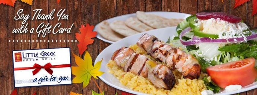 Thanksgiving Platters from Little Greek