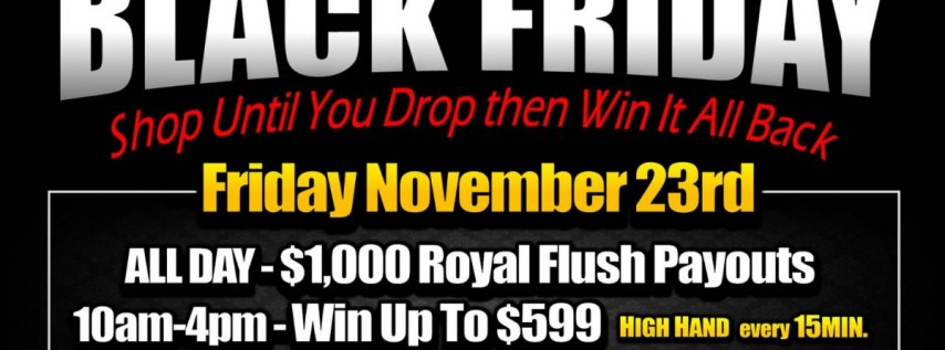 Black Friday at Silks Poker Room