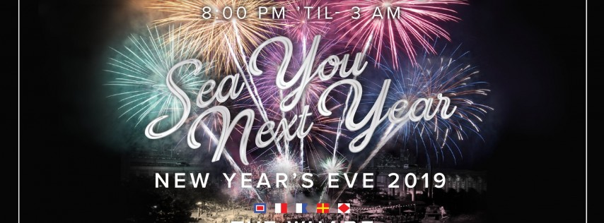 Sea You Next Year! New Year's Eve at The Wharf Miami