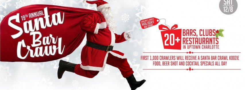 19th Annual Santa Bar Crawl