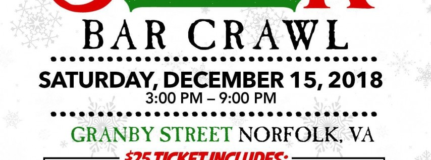 Granby St Ugly Sweater Bar Crawl