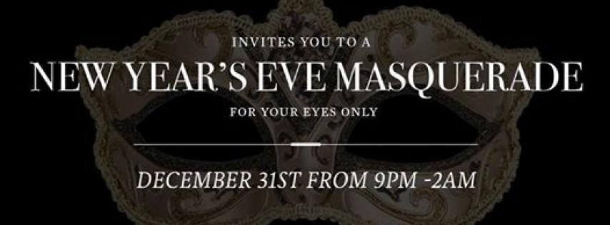 New Year's Eve Masquerade, Tampa FL - Dec 31, 2018 - 9:00 PM