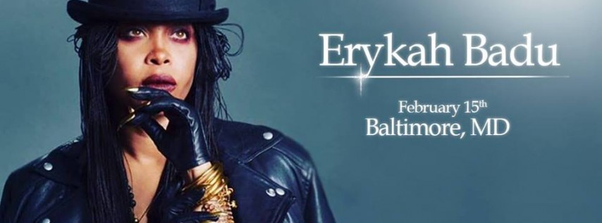 An Evening With Erykah Badu & Special Guest