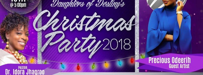 Daughter's of Destiny Women's Ministry Christmas Party!