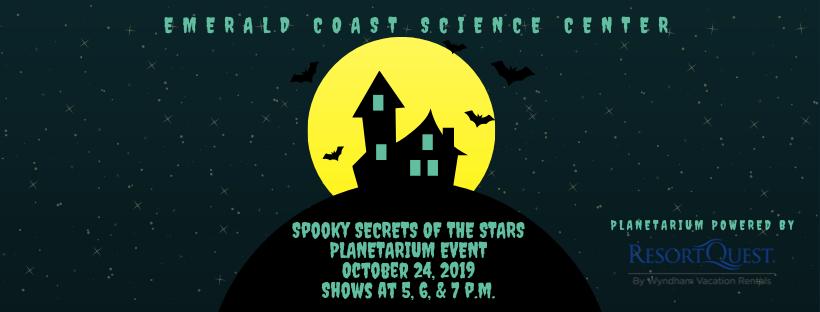 Spooky Secrets of the Stars Planetarium Event