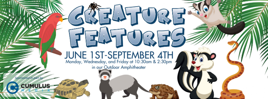 Creature Features at the Science Center