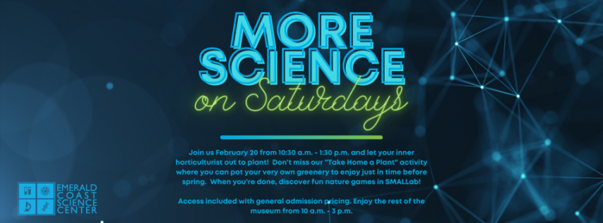 Science Saturdays: 'Take Home a Plant' Workshop