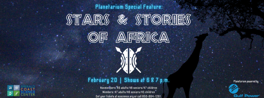 Planetarium Special Feature: Stars & Stories of Africa