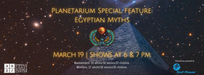 Planetarium Special Feature: Egyptian Myths