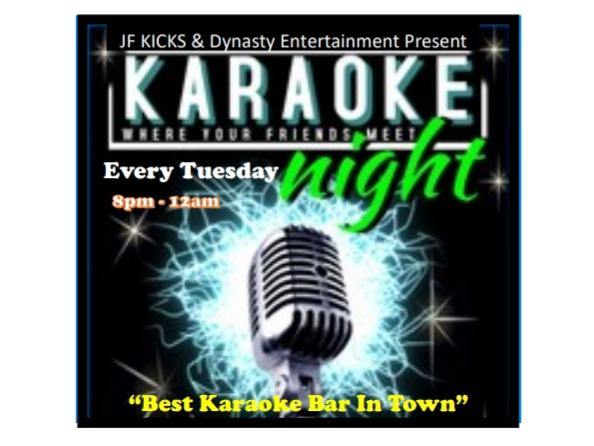 Karaoke Night at JF Kicks