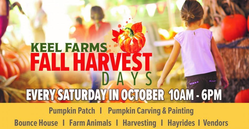 Keel Farms Fall Harvest Days
