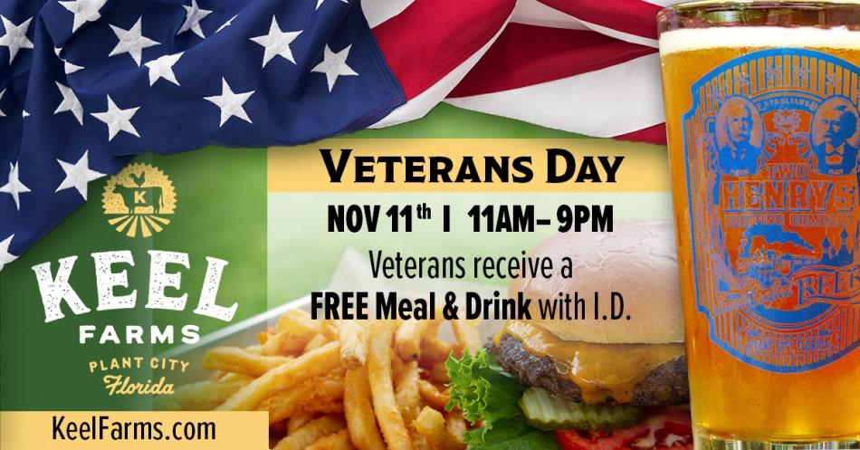 Veterans Day at Keel Farms